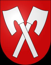 Wappen / Drapeau Biel / Bienne